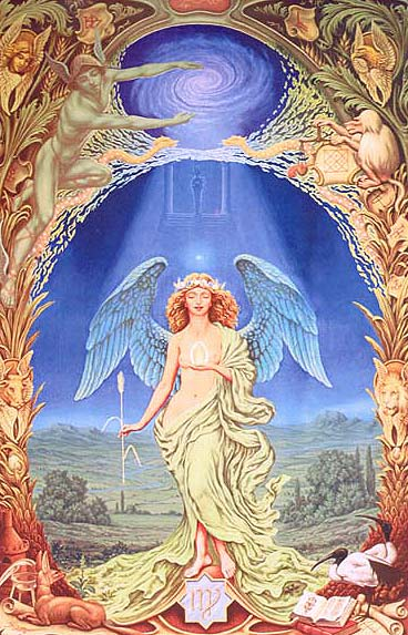 Virgo by Johfra Bosschart